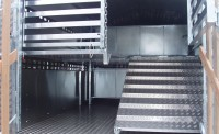 Rear Deck System on 90LT Half of rear ramp down