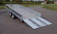 2043 Hydraulic Tilt, Side, Aluminium Floor 2000kg 14'x 5'10