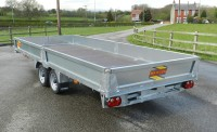 3550 16' x 6'6 with optional Sides and ramps and carrier