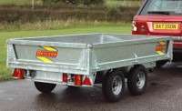 2025 8' x 5' Platform 2000kg fitted with optional sides