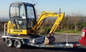 New 20MD Excavator Trailer
