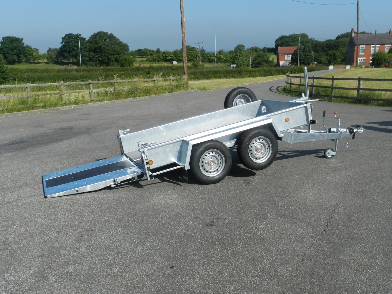 Hydraulic Tilt Trailers Product Categories Bateson