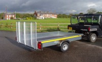 8 X 5 Unbraked Trailer