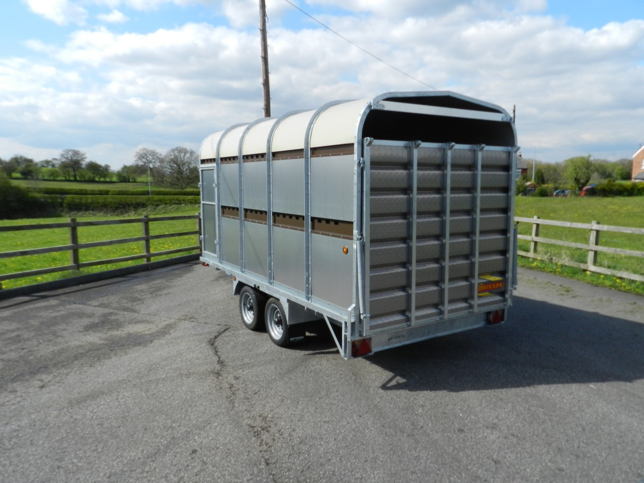 Livestock Trailers Product Categories Bateson Trailers