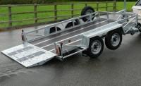 2.6T hydraulic tilt special 10' x 5'6 short ramp
