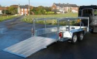 3 metre bin trailer ramp down