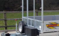 Ladder Rack for Platform Trailers