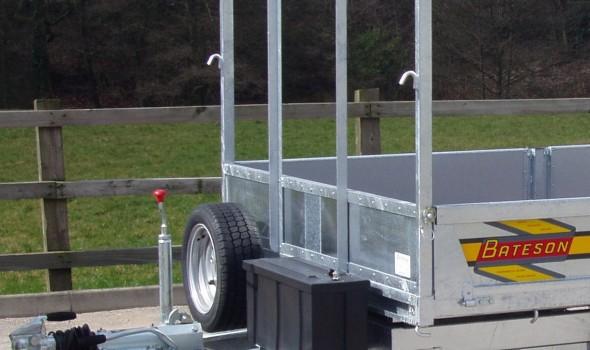 Ladder Rack for Platform Trailers