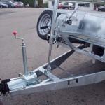 Hydraulic tilt option Ram open