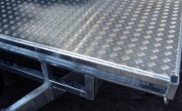 Alloy Tread plate floor