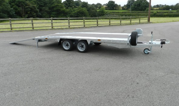 354B Beavertail Trailer Standard Trailer