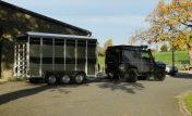 New 12′ Livestock Trailer Tri Axle  336LT