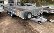 PF50 Low platform tri axle trailer