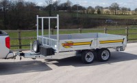 353H 3.5T Tipper with optional ladder rack