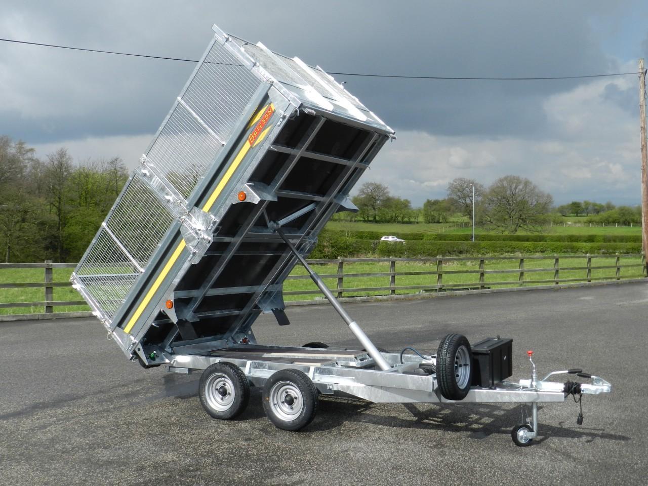 263h 10 X 5 10 2 6ton Hydraulic Tipping Trailer