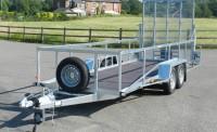 5 metre 2000kg bin trailer