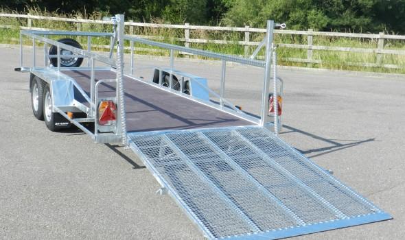 Low approach mesh ramp