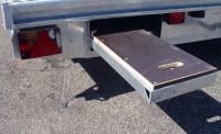 optional slide in ramps, alloy floor