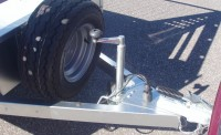 Optional 34mm jockey wheel