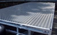 Alloy Tread plate floor