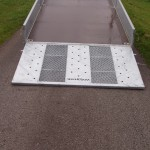 Hydraulic tilt option Ramp down