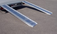 Aluminium loading ramps