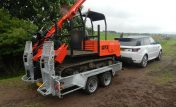 35PM Plant Trailer High Carrying Capacity