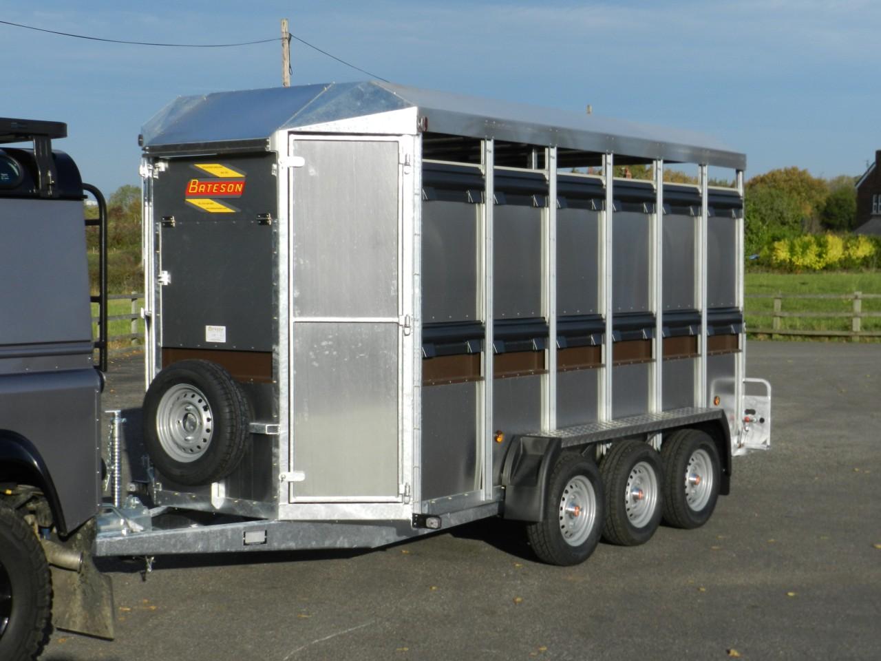 Eurostock 336l Tri Axle Livestock Trailer Bateson Trailers